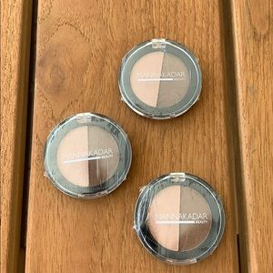 Set of 3 Manna Kadar Bronzer Highlighter